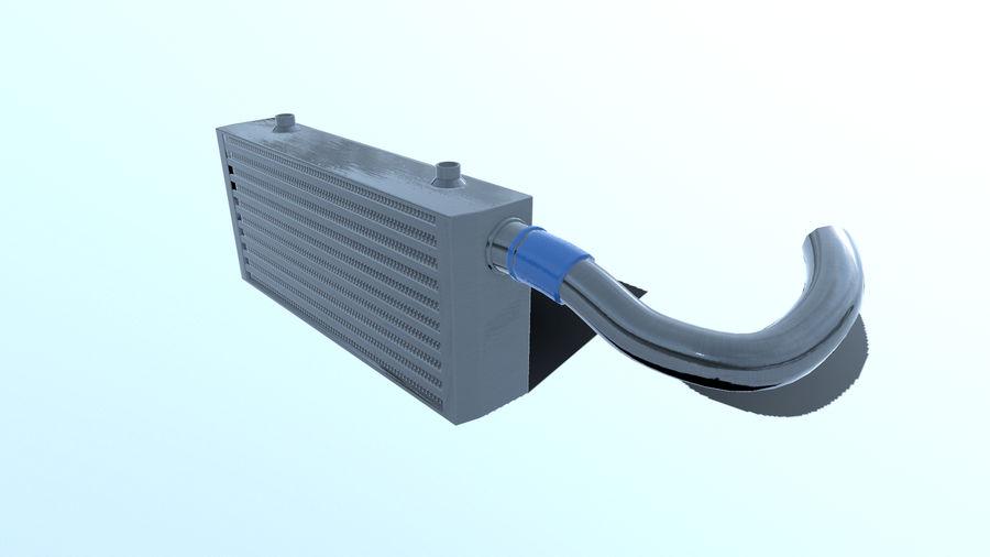 中冷器 royalty-free 3d model - Preview no. 8