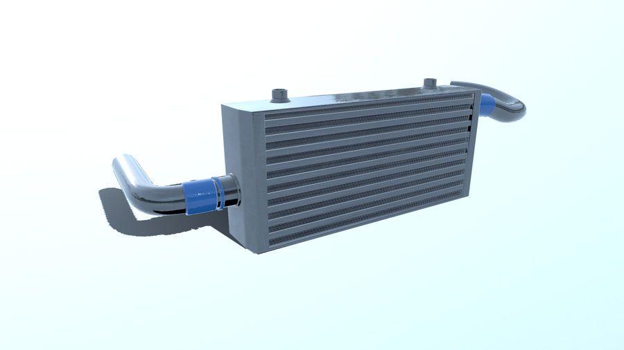 中冷器 royalty-free 3d model - Preview no. 2
