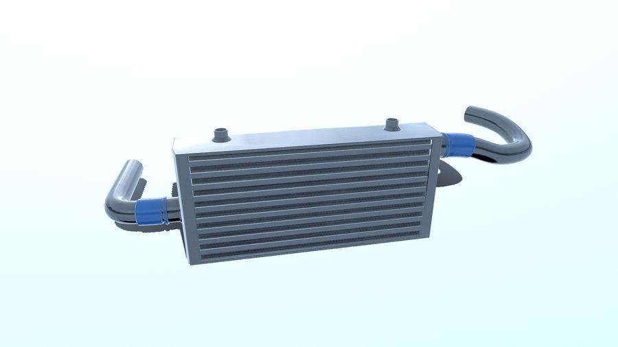 中冷器 royalty-free 3d model - Preview no. 3