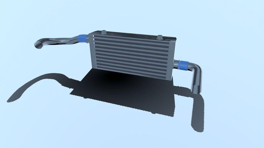 中冷器 royalty-free 3d model - Preview no. 6