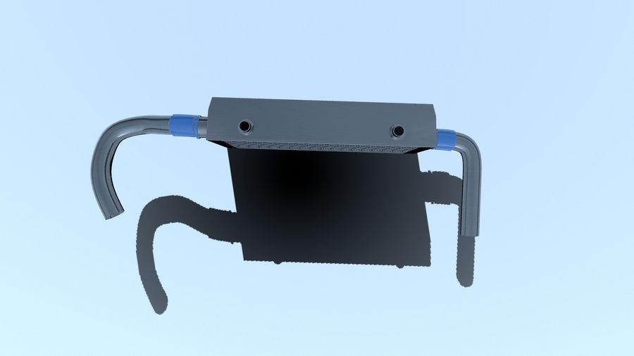 中冷器 royalty-free 3d model - Preview no. 7