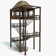 Wieża strażacka 3d model