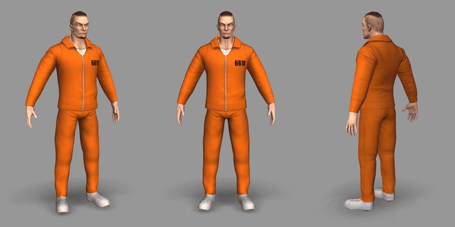 Prigioniero royalty-free 3d model - Preview no. 9