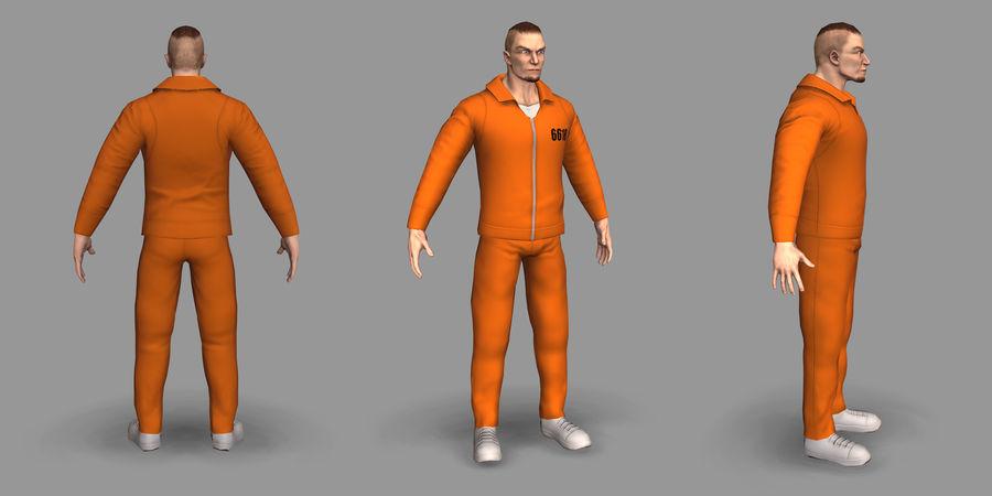 Prigioniero royalty-free 3d model - Preview no. 10