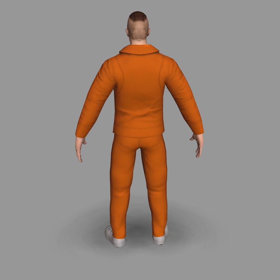 Prigioniero royalty-free 3d model - Preview no. 8