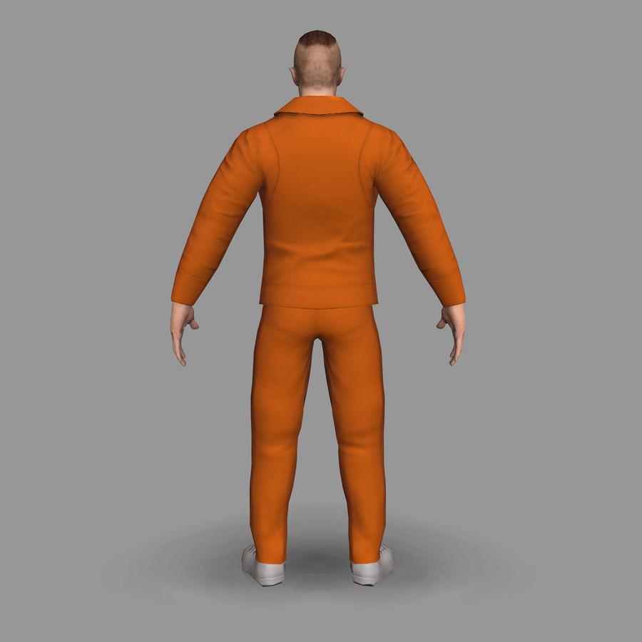 Prigioniero royalty-free 3d model - Preview no. 6