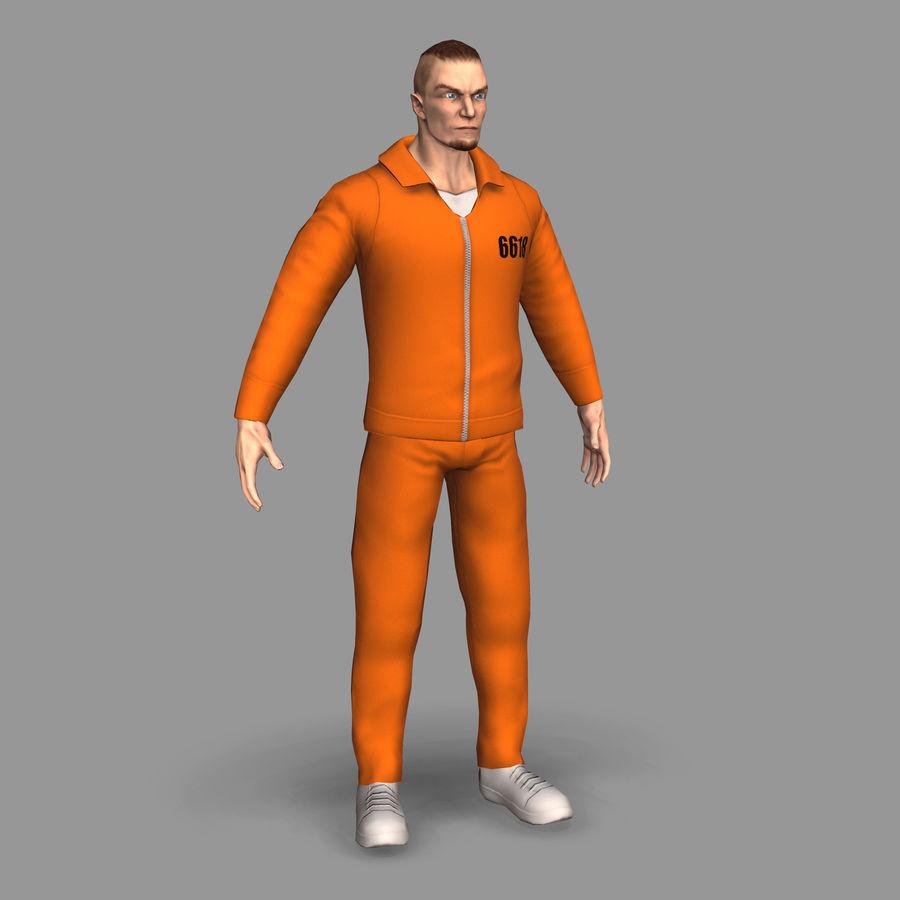 Prigioniero royalty-free 3d model - Preview no. 3