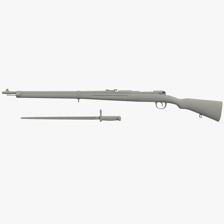 Mannlicher Schoenauer M1903 royalty-free 3d model - Preview no. 1