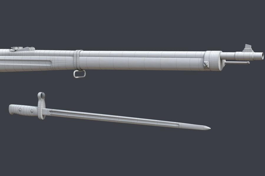 Mannlicher Schoenauer M1903 royalty-free 3d model - Preview no. 13