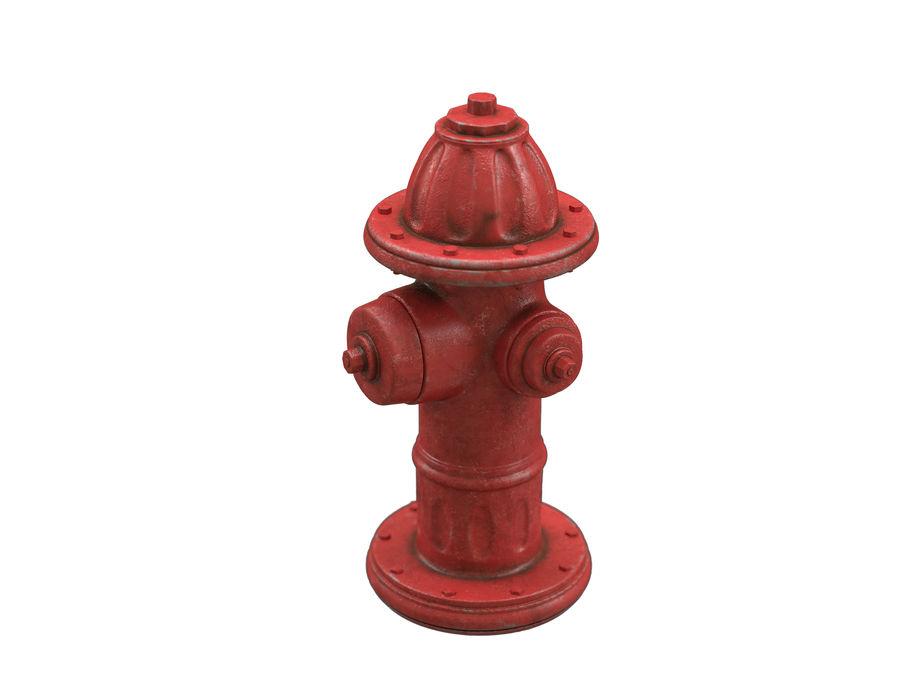 Пожарный кран royalty-free 3d model - Preview no. 4