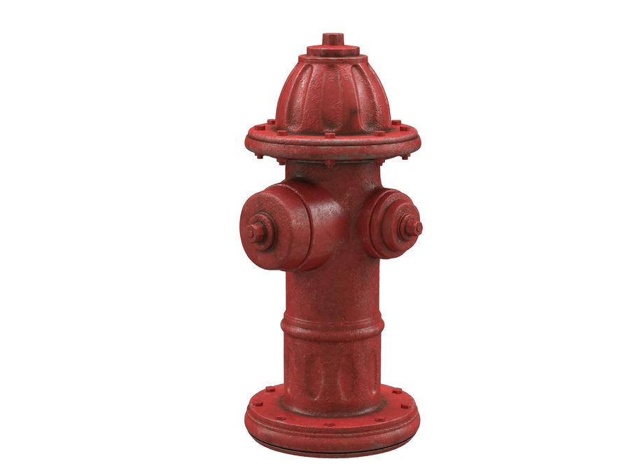 Пожарный кран royalty-free 3d model - Preview no. 7
