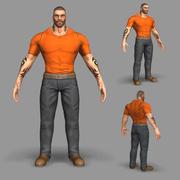 Gangster 3d model