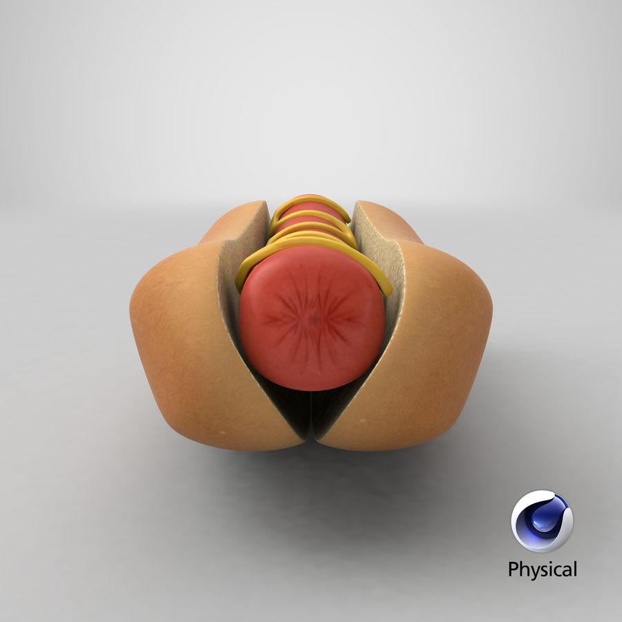 Hot Dog Sandwich 03 3D-model royalty-free 3d model - Preview no. 19
