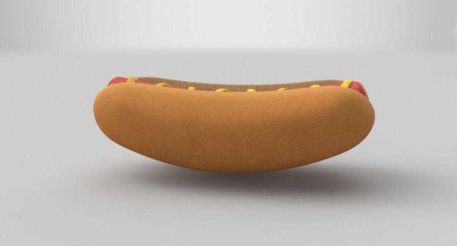 Hot Dog Sandwich 03 3D-model royalty-free 3d model - Preview no. 7