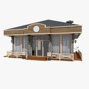 Vintage Pavilion Store 3d model
