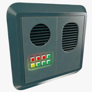 Science Fiction Door Control Panel V2 3d model
