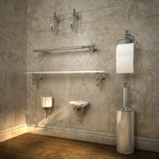 bathroom accessories 3d model