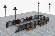 Subway Entrance 3d model