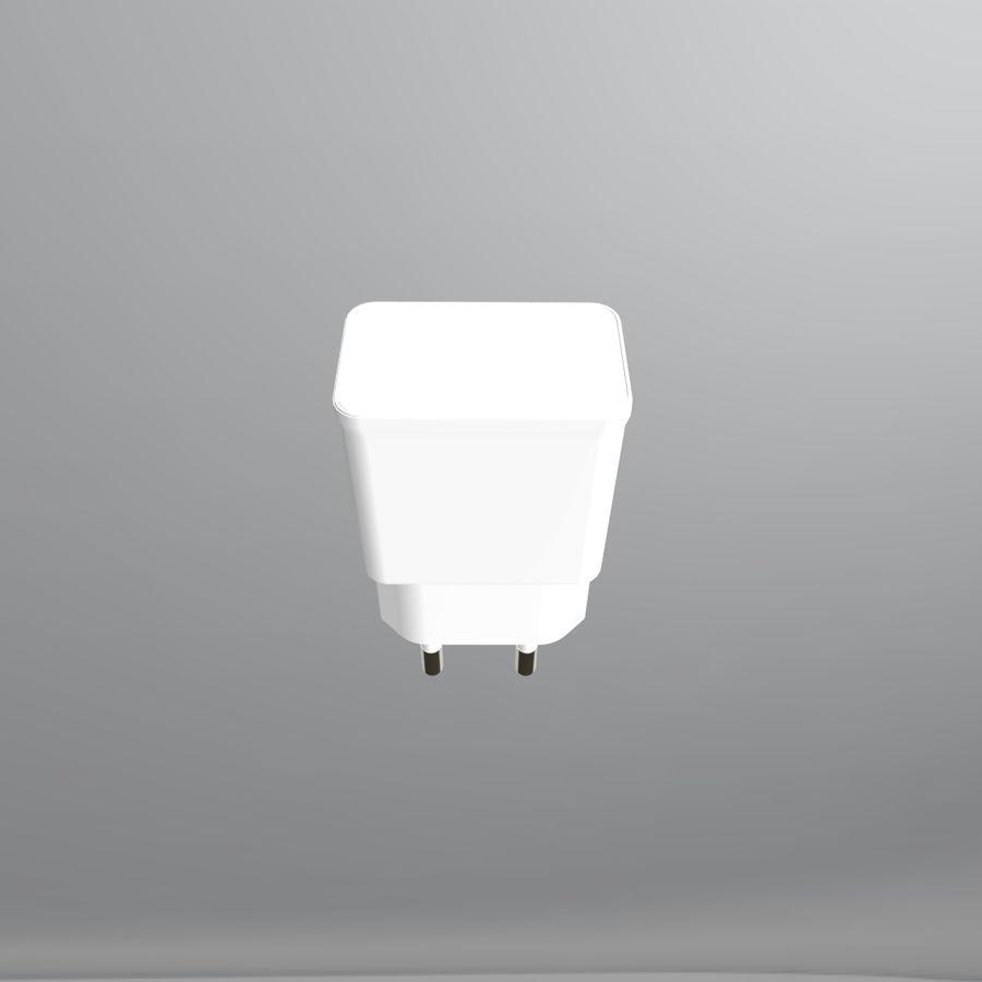 Caricatore del telefono 3D royalty-free 3d model - Preview no. 6