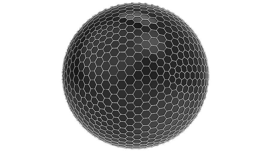 Шестиугольник планеты Земля royalty-free 3d model - Preview no. 5
