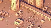 Weiße Stadt 3d model