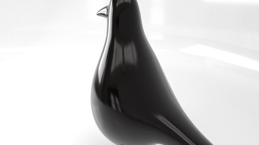 Bird Trinket Set royalty-free 3d model - Preview no. 32