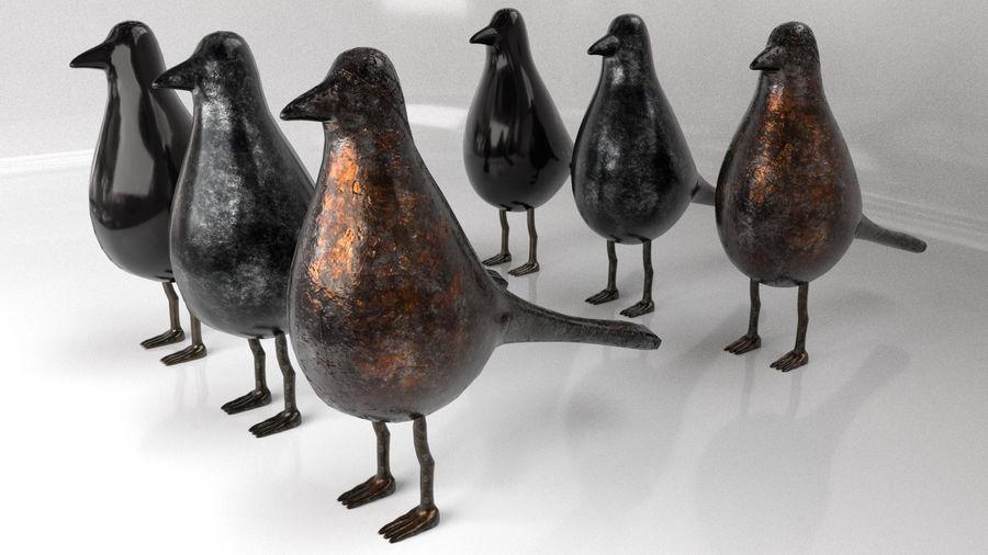 Bird Trinket Set royalty-free 3d model - Preview no. 1