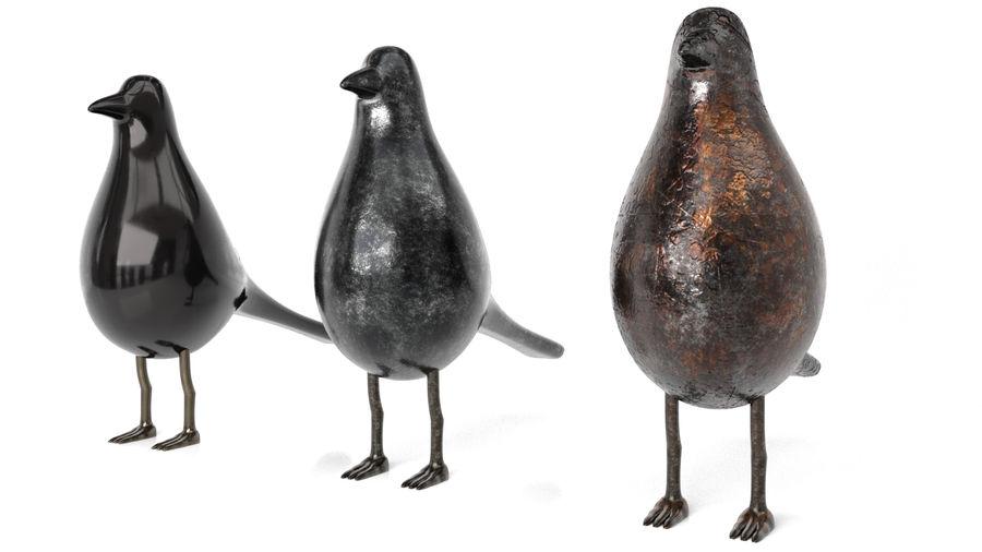 Bird Trinket Set royalty-free 3d model - Preview no. 4