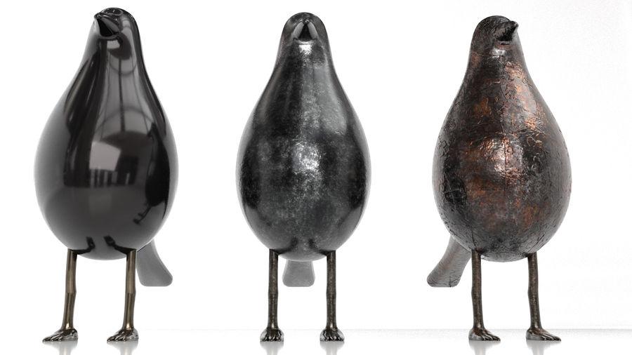Bird Trinket Set royalty-free 3d model - Preview no. 8