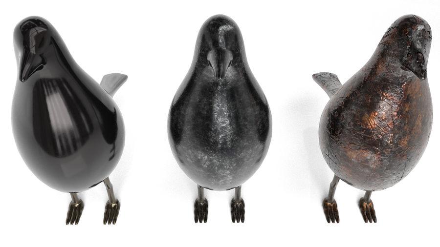 Bird Trinket Set royalty-free 3d model - Preview no. 9