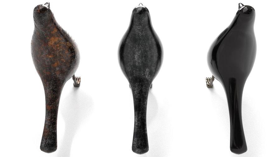 Bird Trinket Set royalty-free 3d model - Preview no. 5