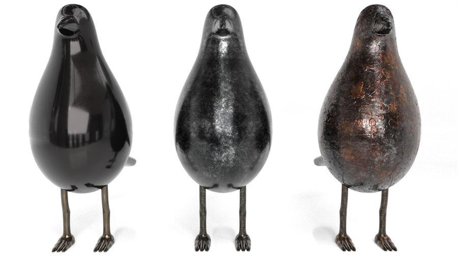 Bird Trinket Set royalty-free 3d model - Preview no. 7