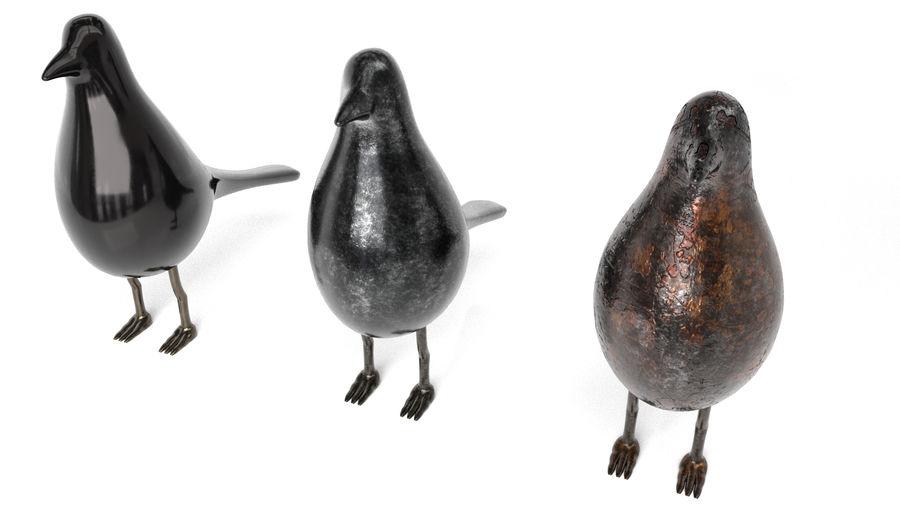 Bird Trinket Set royalty-free 3d model - Preview no. 6