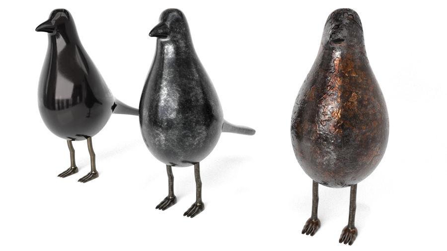 Bird Trinket Set royalty-free 3d model - Preview no. 3