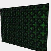 Innenarchitektur-Panel 3d model