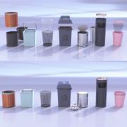 環境に優しいゴミ箱 3d model