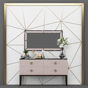 Artdeco_set_Sideboard 3d model
