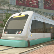 Phoenix Light Rail Car 3d model