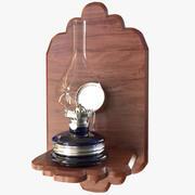 Oil Lamp 02 3d model