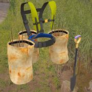 Baum Pflanzer Geschirr 3d model