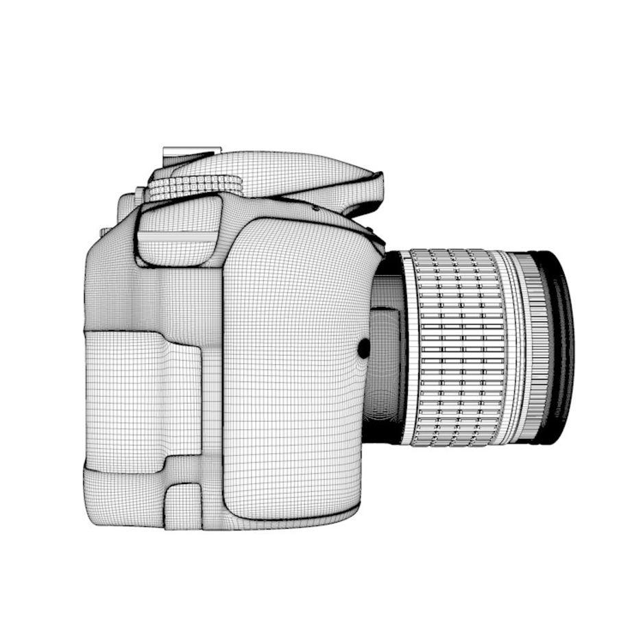 Nikon D3400 royalty-free 3d model - Preview no. 19