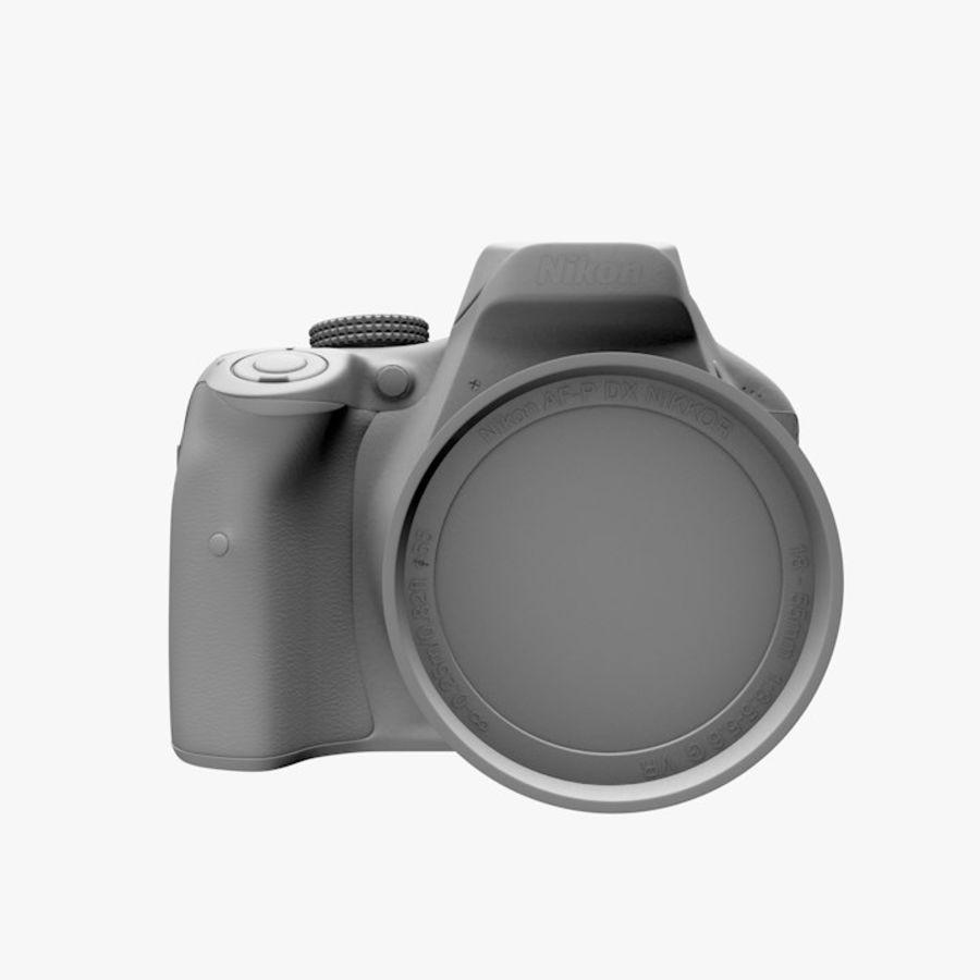 Nikon D3400 royalty-free 3d model - Preview no. 12