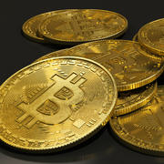 Bitcoin realistic physical model 3d model