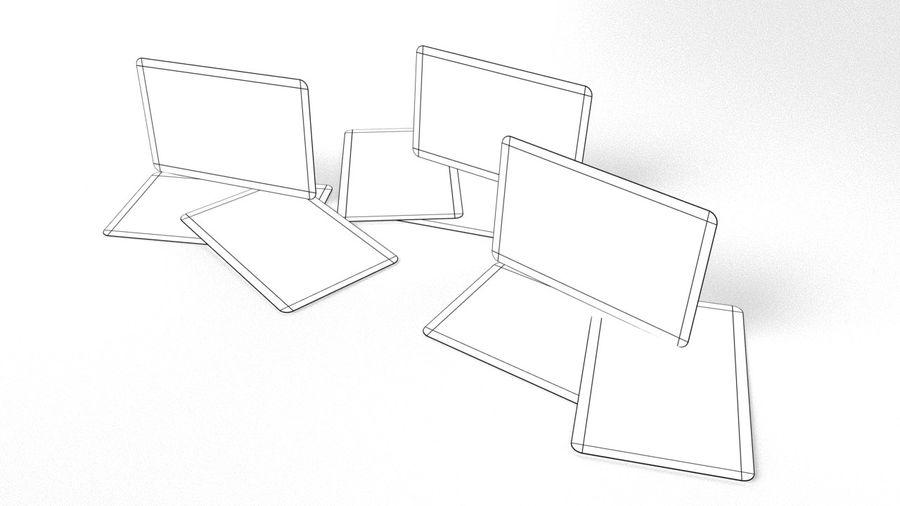 Cartão de crédito royalty-free 3d model - Preview no. 5