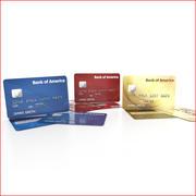 Cartão de crédito 3d model