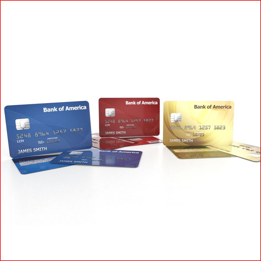 Cartão de crédito royalty-free 3d model - Preview no. 1