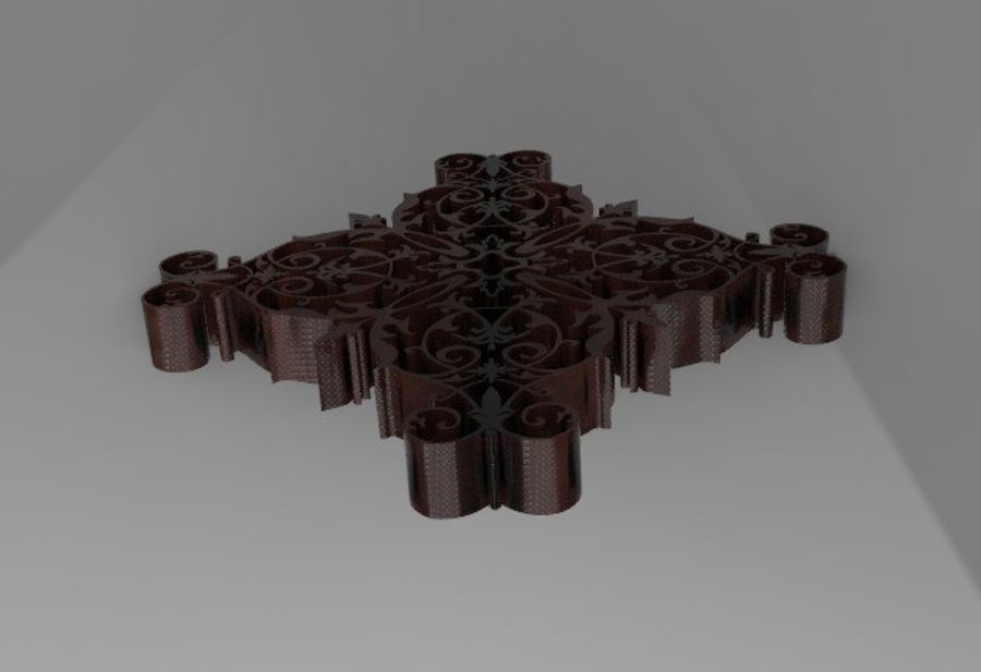 ARCHITECTURAL DECOR(1) royalty-free 3d model - Preview no. 3