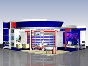 Expo Stand V2 3d model