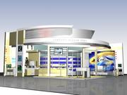Expo Stand V3 3d model