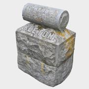Tombstone - Keeton 3d model